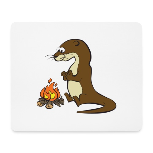Song of the Paddle; Quentin campfire - Mouse Pad (horizontal)