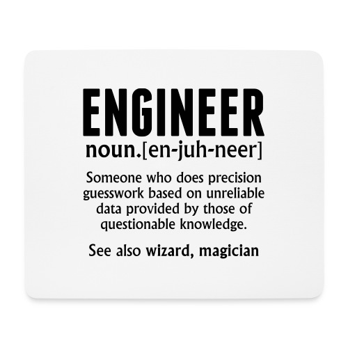 ENGINEER - Mouse Pad (horizontal)