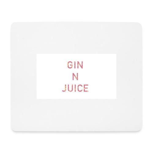 Gin n juice geschenk geschenkidee - Mousepad (Querformat)