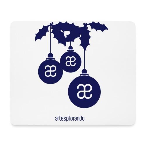 Buon Natale da Artesplorando - Tappetino per mouse (orizzontale)
