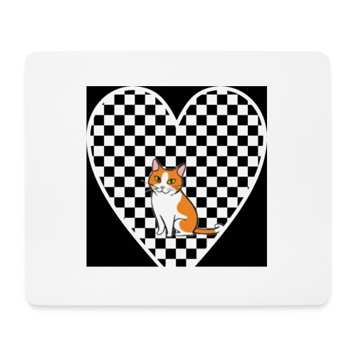 Charlie the Chess Cat - Mouse Pad (horizontal)