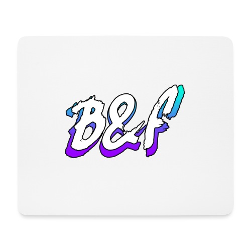 Purple and Blue Fade - Mouse Pad (horizontal)
