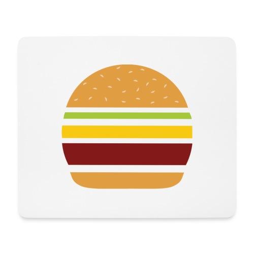 Logo Burger Panhamburger - Tapis de souris (format paysage)