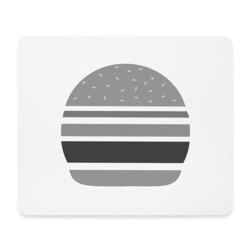 Logo_panhamburger_gris - Tapis de souris (format paysage)