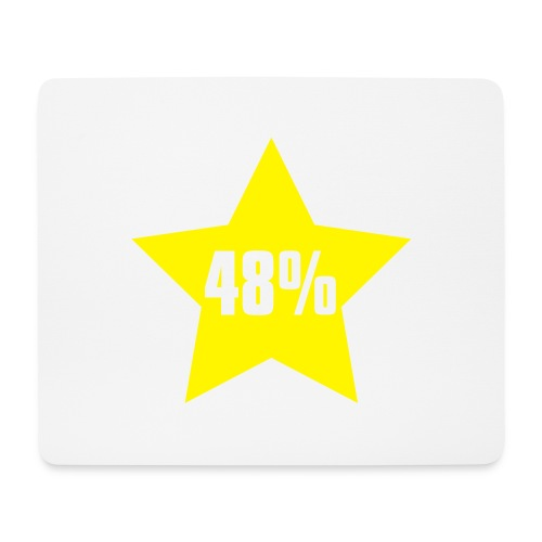 48% in Star - Mouse Pad (horizontal)