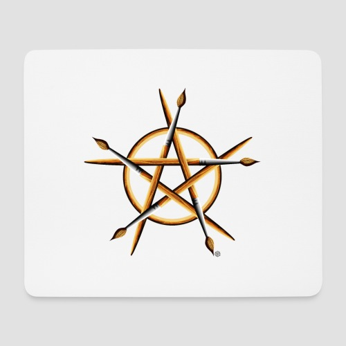 PAGAN PAINTER - Mouse Pad (horizontal)