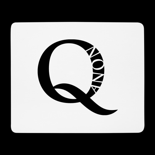 Q Anon Q-Anon Original Logo - Mousepad (Querformat)