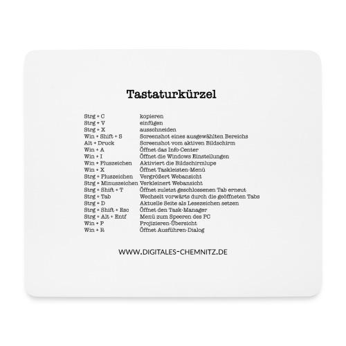 Tastaturkürzel - Mousepad (Querformat)