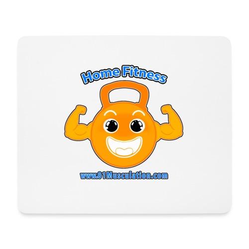 Logo 01Musculation Home Fitness Kettlebell - Tapis de souris (format paysage)