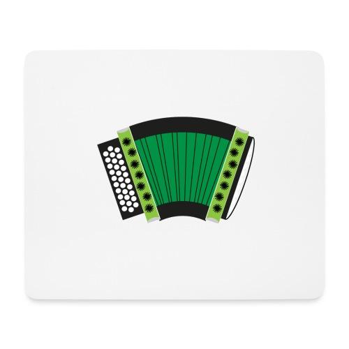 Schwyzerörgeli grün - Mousepad (Querformat)