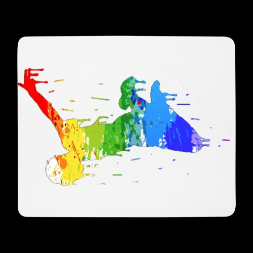 jump design paint - Mouse Pad (horizontal)