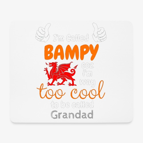 I'm Called BAMPY - Cool Range - Mouse Pad (horizontal)