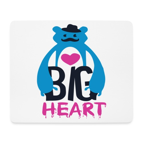 Big Heart Monster Hugs - Mouse Pad (horizontal)