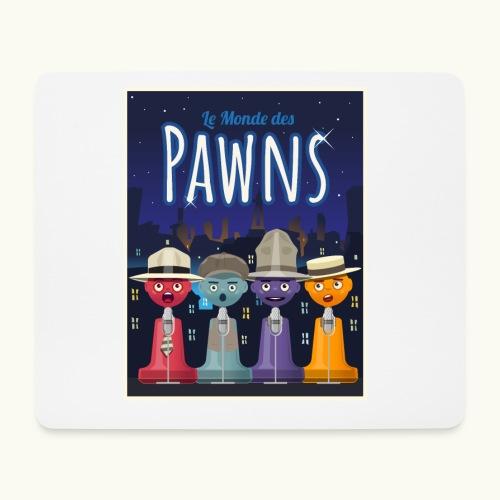 Les Pawn Brothers Chantent - Tapis de souris (format paysage)