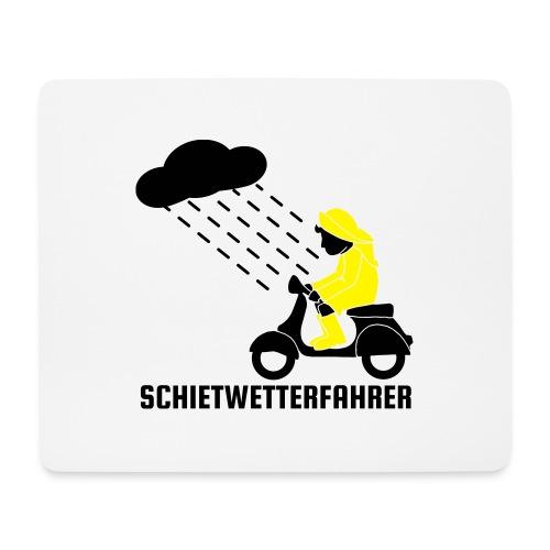 Schietwetterfahrer - Mousepad (Querformat)
