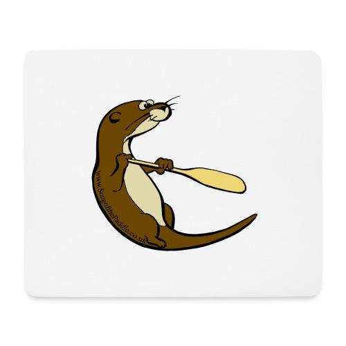 Song of the Paddle; Quentin classic pose - Mouse Pad (horizontal)