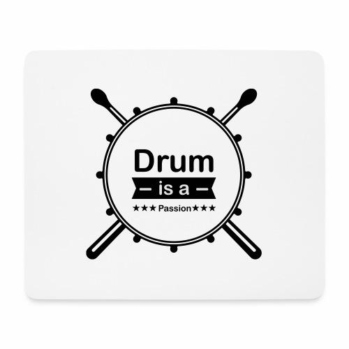 Drum is a passion - Mousepad (Querformat)