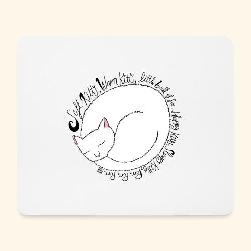 Soft kitty - Alfombrilla de ratón (horizontal)