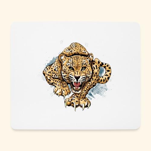 Leopardo KutuXa - Alfombrilla de ratón (horizontal)