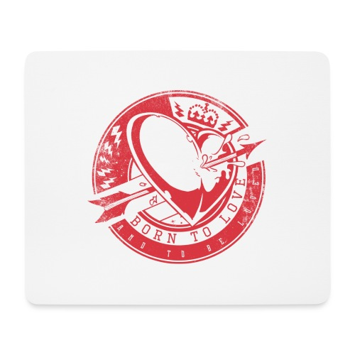 Born to love - Mousepad (Querformat)