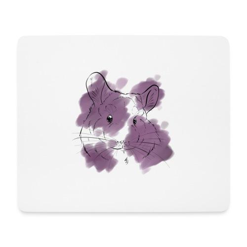 Violet splash chinchilla - Hiirimatto (vaakamalli)