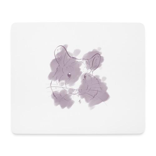 Violet splash chinchilla 2 - Hiirimatto (vaakamalli)