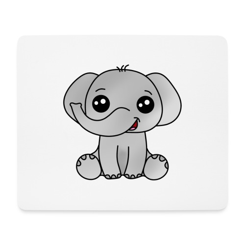 Elephant - Alfombrilla de ratón (horizontal)