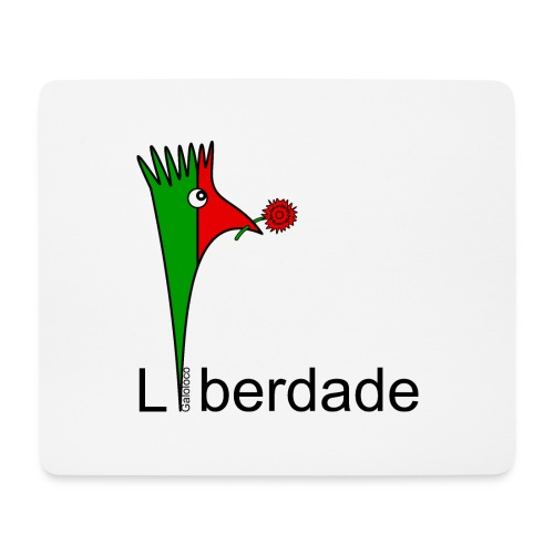 Galoloco - Liberdaded - 25 Abril - Mousepad (Querformat)