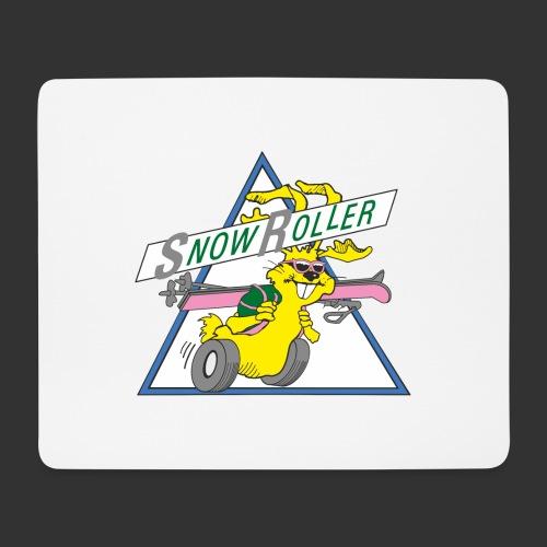 SnowRoller logo - Musmatta (liggande format)