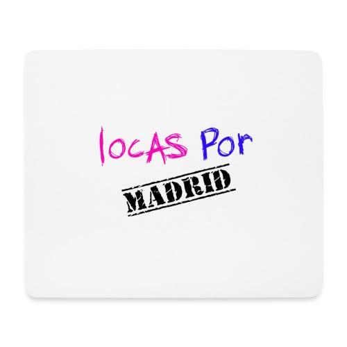 Locas por Madrid - Alfombrilla de ratón (horizontal)