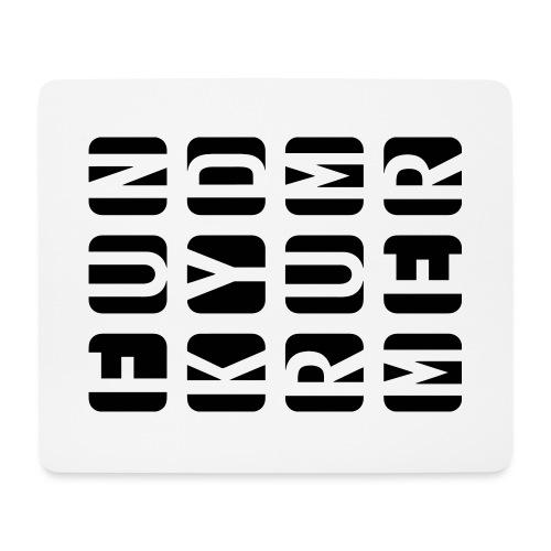 Funky Drummer Cubes - Mousepad (Querformat)