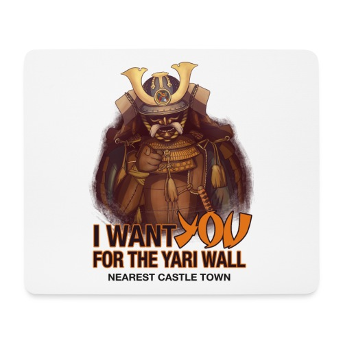 I FOR YOU FOR THE YARI WALL ACCESSORIES - Mouse Pad (horizontal)