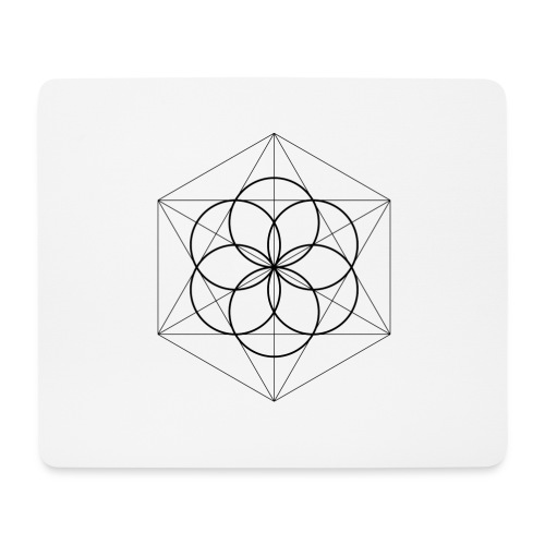 Seed of Life - Mousepad (bredformat)