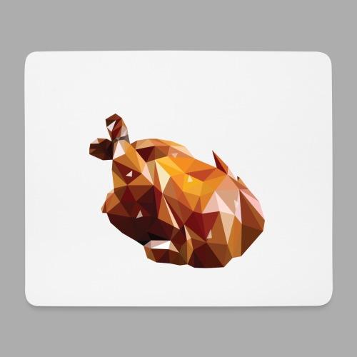 Turkey polyart - Mouse Pad (horizontal)