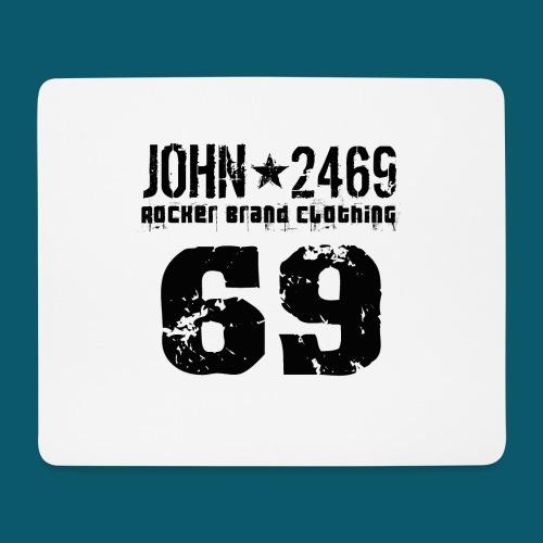 john 2469 numero trasp per spread nero PNG - Tappetino per mouse (orizzontale)