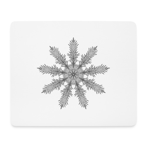 Magic Star Tribal #4 - Mouse Pad (horizontal)