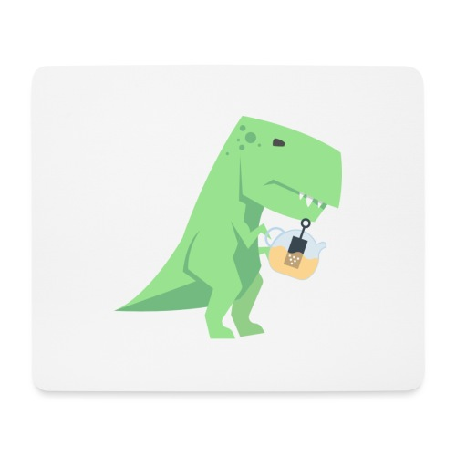 Tea-Saurus - Mousepad (Querformat)