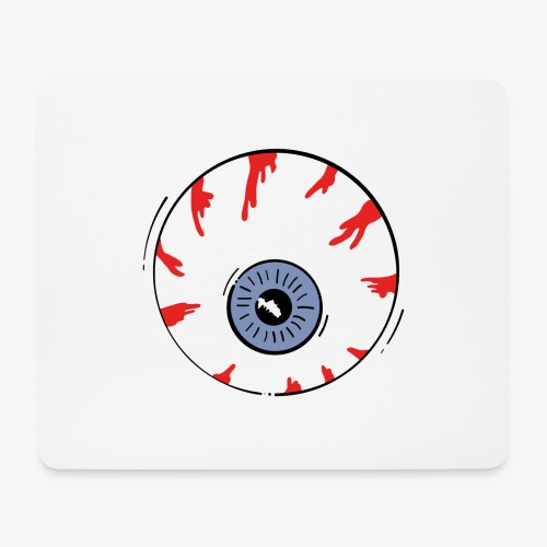 I keep an eye on you / Auge - Mousepad (Querformat)