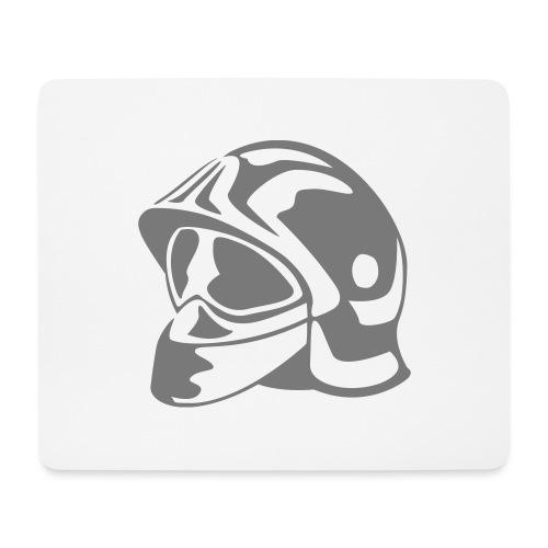 casque_pompier - Tapis de souris (format paysage)