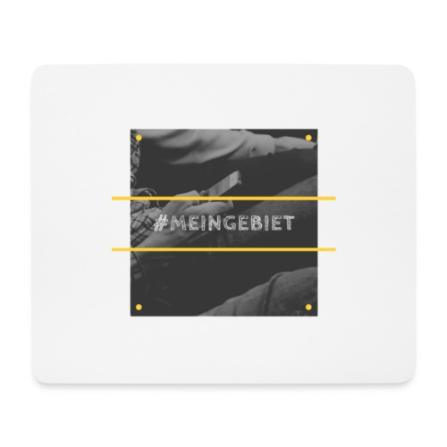 MeinGebiet - Mousepad (Querformat)