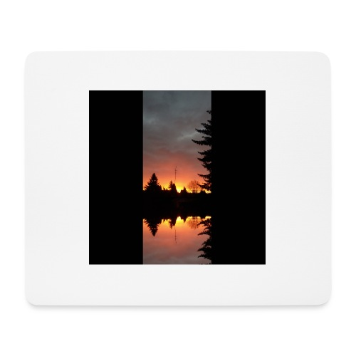 Morgenrotdrama Small - Mousepad (Querformat)