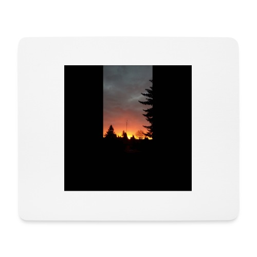 Morgenrotdrama Small Short - Mousepad (Querformat)
