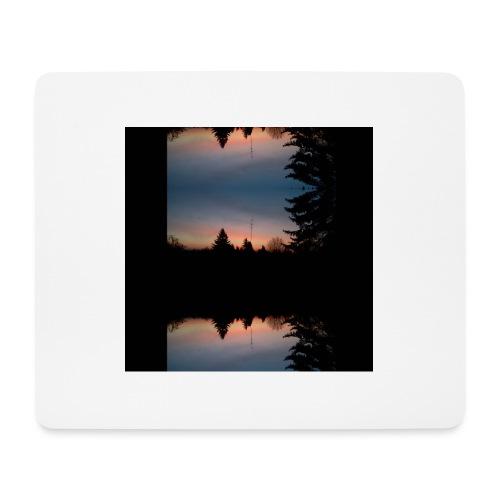 Sonnenhorizont Spiegelung Heller - Mousepad (Querformat)
