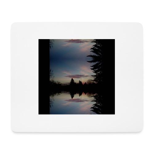 Sonnenhorizont Spiegelung Ufowolke - Mousepad (Querformat)