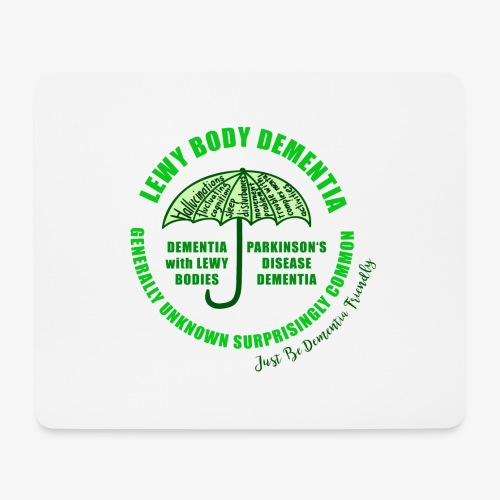 Lewy Body Dementia - Mouse Pad (horizontal)