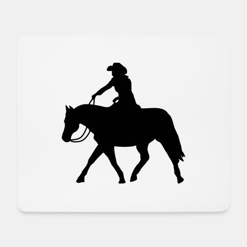 Ranch Riding extendet Trot - Mousepad (Querformat)
