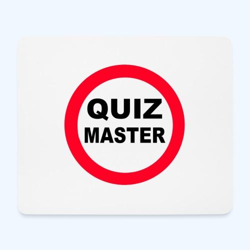 Quiz Master Stop Sign - Mouse Pad (horizontal)