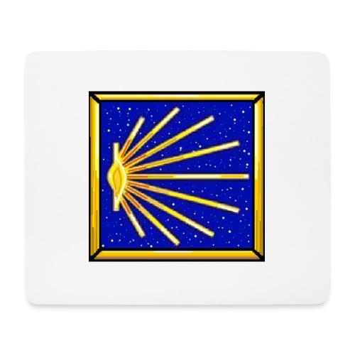 Bandiera Definitiva Cammino Di Santiago De Compost - Tappetino per mouse (orizzontale)