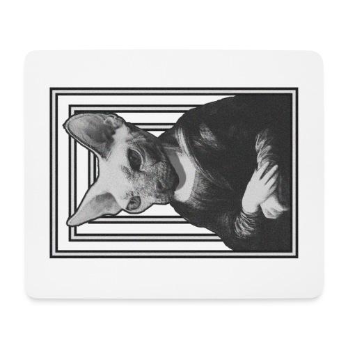 CAT LISA - Alfombrilla de ratón (horizontal)