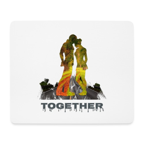 Together - Tapis de souris (format paysage)